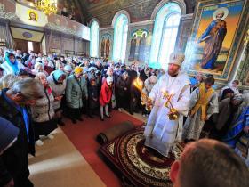 Первая Божественная Литургия епископа Леонтия на Сызранской Земле - 2020 год