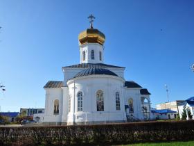 Вознесенский храм, восточная сторона - осень 2019