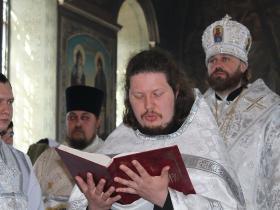 рукоположение в сан иеродиакона монаха Андроника (Рогожкина) - Престольный праздник 25 мая 2017 года