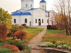 Феодоровский храм и парк - осень 2019 год