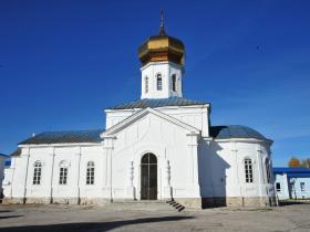 Вознесенских храм, южная сторона - осень 2019