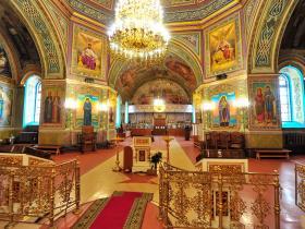 Вознесенский храм, убранство - осень 2019